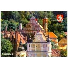 Turistinis atvirukas 4001.5427 Vilnius