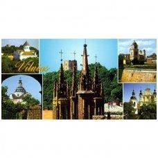 Turistinis atvirukas 4002.4912 Vilnius