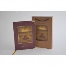 """7010 Užrašų knygelė M.K.Čiurlionis """"Sonata Nr.5 (Jūros sonata)"""