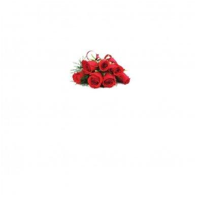 """Atvirukas 30021 """"Trys raudonos rožės - Sveikinimai"""" 6"""