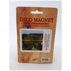 Dekoratyvus magnetas su termometru  7019_miškas