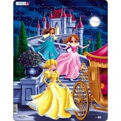 """Dėlionė """" Princesės"""""""