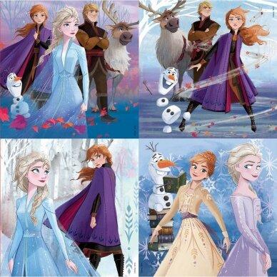 """Dėlionių rinkinys  """"Frozen""""  2"""