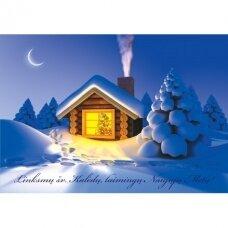 Kalėdinis atvirukas 2007.9275