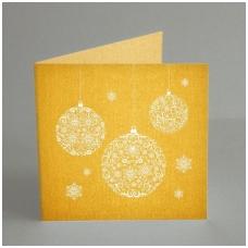 """Kalėdinis atvirukas """"Burbulai"""" 6020NM"""