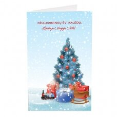 Kalėdinis sveikinimo atvirukas 20034.9887