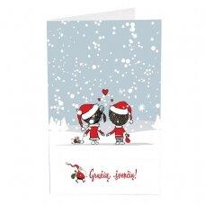 Kalėdinis sveikinimo atvirukas 20034.9888