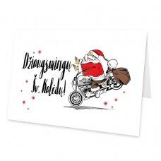 Kalėdinis sveikinimo atvirukas 20034.9889