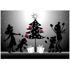 Kalėdinis sveikinimo atvirukas 2007.8270
