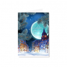 Kalėdinis sveikinimo atvirukas 2007.9716