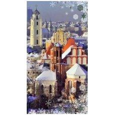Kalėdinis sveikinimo atvirukas 20081.8897 Vilnius