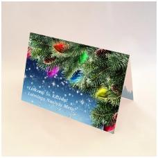 Kalėdinis sveikinimo atvirukas be voko 2007.9479