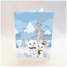 Kalėdinis sveikinimo atvirukas be voko 2007.9480