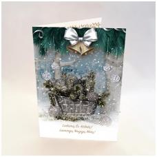 Kalėdinis sveikinimo atvirukas be voko 2007.9481