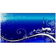 Kalėdinis sveikinimo atvirukas (voko formos) 217.9149