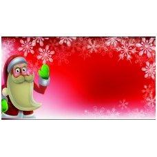 Kalėdinis sveikinimo atvirukas (voko formos) 217.9152