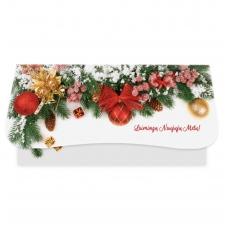 Kalėdinis sveikinimo atvirukas (voko formos) 217.9755