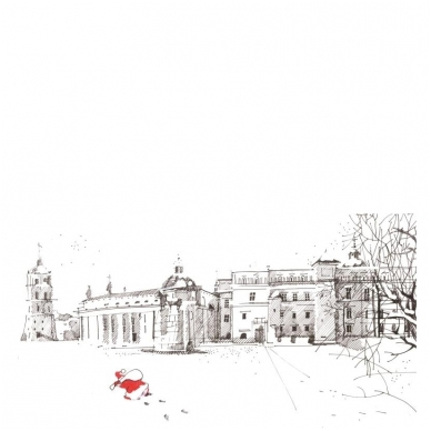 Kalėdinis sveikinimo atvirukas 20081.8552 2