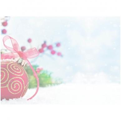 Kalėdinis sveikinimo atvirukas be voko 2007.9478 2