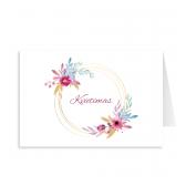 """Kvietimas """"Kuklios spalvotos gėlytės"""". 3008.9574"""