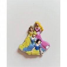 """Magnetiniai lipdukai 3D """"Princesės"""""""