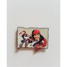 """Magnetiniai lipdukai 3D """"Karibų piratai"""""""