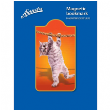 "Magnetinis skirtukas ""Kačiukas ant virvės"""