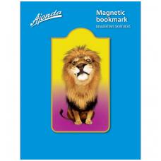 """Magnetinis skirtukas """"Liūtas"""""""