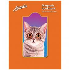 """Magnetinis skirtukas """"Nustebęs kačiukas"""""""