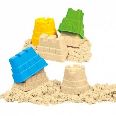 """Rinkinys kūrybai - Išmanusis smėlis """"Pasakų pilis"""" 4"""