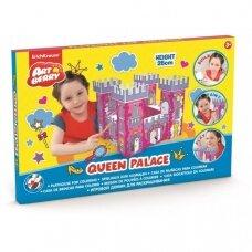 """Spalvinama žaidimo pilis """"Karalienės rūmai"""""""