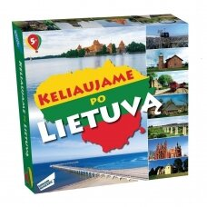 """Stalo žaidimas """"Keliaujame po Lietuvą"""""""