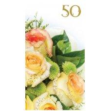 """Sveikinimo atvirukas 310  """"50 metų"""""""