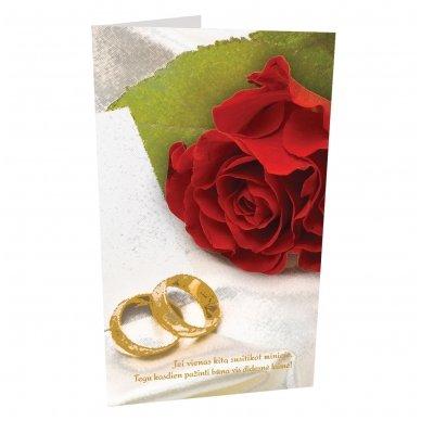 """Sveikinimo atvirukas """"Vestuvių proga"""""""