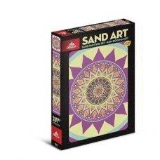 """Trijų dalių piešimo smėliu rinkinys """"MANDALA"""""""