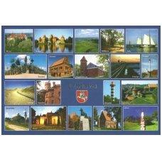 Turistinis atvirukas 4001.6755 Lietuva