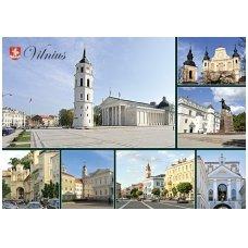 Turistinis atvirukas 4001.7821 Vilnius