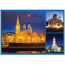 Turistinis atvirukas 4001.8367 Kaunas