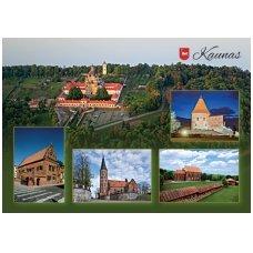 Turistinis atvirukas 4001.8368 Kaunas