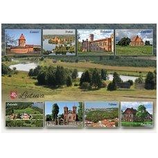 Turistinis atvirukas 4001.8382 Lietuva