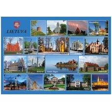 Turistinis atvirukas 4001.8384 Lietuva
