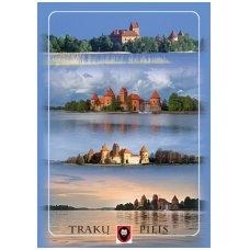 Turistinis atvirukas 4001.8672 Trakai