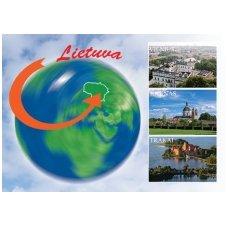 Turistinis atvirukas 4001.8678 Lietuva