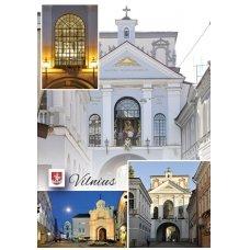 Turistinis atvirukas 4001.8680 Vilnius