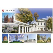 Turistinis atvirukas 4001.8681 Vilnius