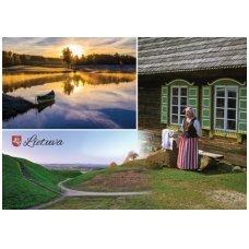 Turistinis atvirukas 4001.8964 Lietuva