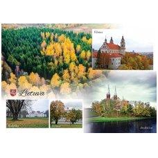 Turistinis atvirukas 4001.8974 Lietuva
