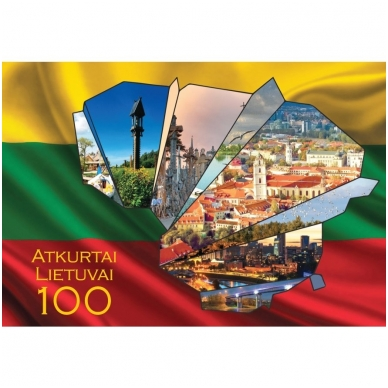 "Turistiniai atvirukai 4001.9388 ""Lietuva"""