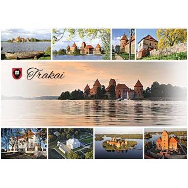 Turistinis atvirukas 4001.8377 Trakai