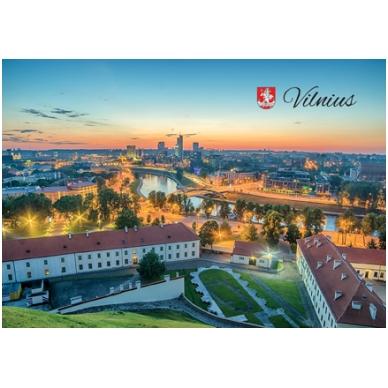 Turistinis atvirukas 4001.8685 Vilnius